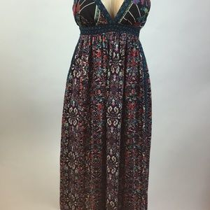 Fire Los Angeles Maxi Dress Size M
